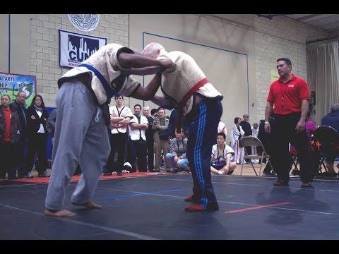 Shuai Jiao demo at US Open Martial Arts Championship 2012