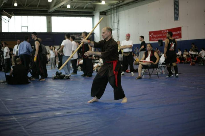 Forms demonstration photos at the US Open Martial Arts Championship organized by the WFMAF.