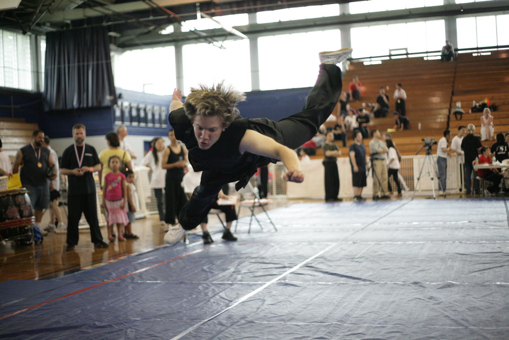 Form competition at US Open Martial Arts Championship organized by the WFMAF