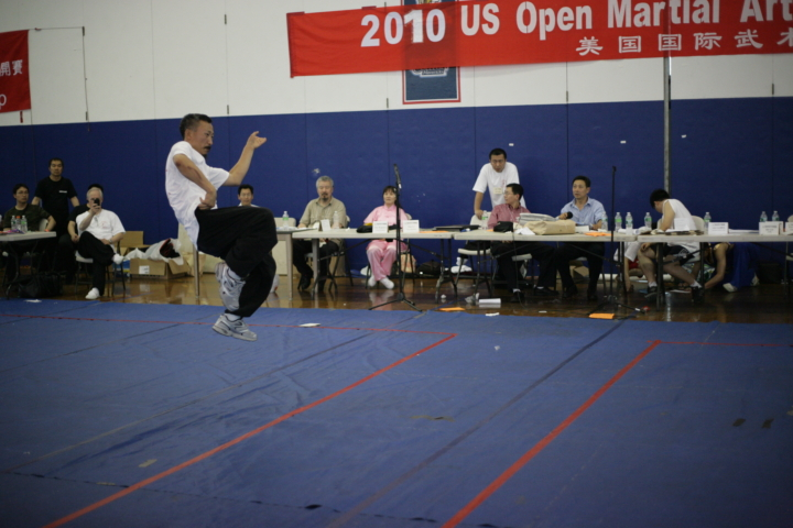 Master demonstration photos at the US Open Martial Arts Championship organized by the WFMAF.