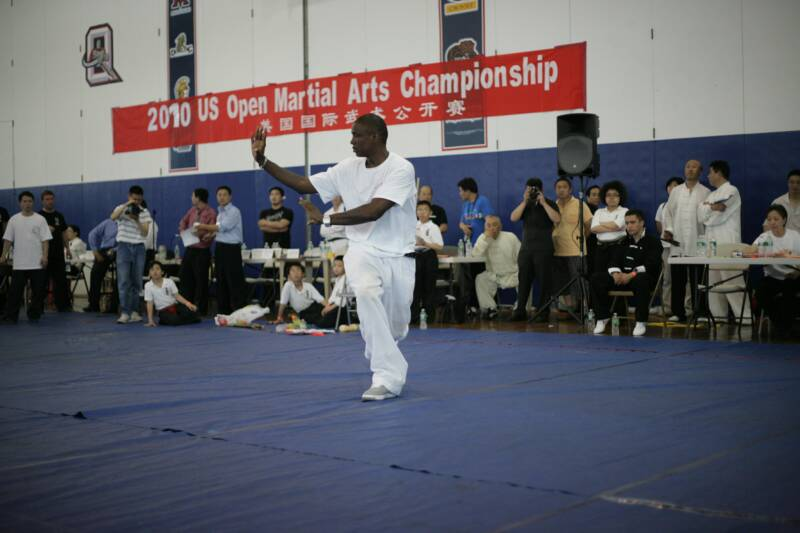 Master demonstration at US Open Martial Arts Championship organized by the WFMAF