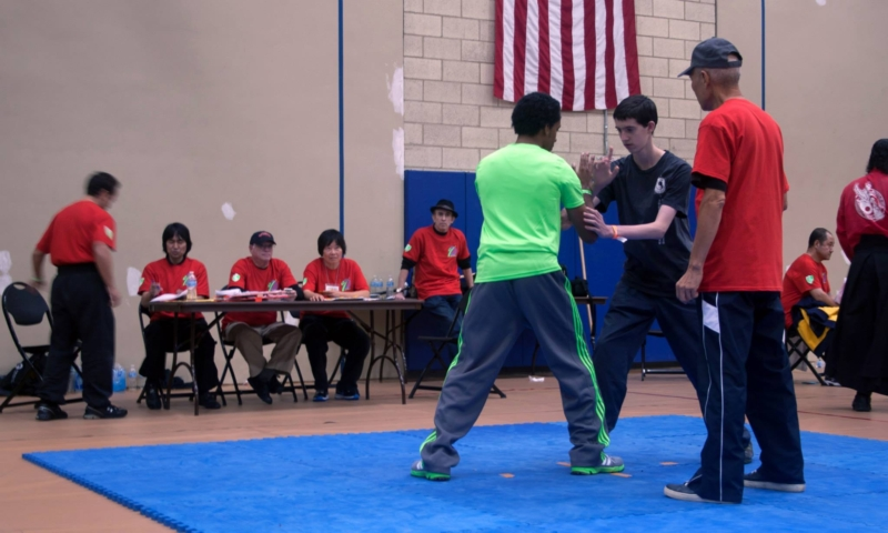 Push Hands photos at the US Open Martial Arts Championship organized by the WFMAF.