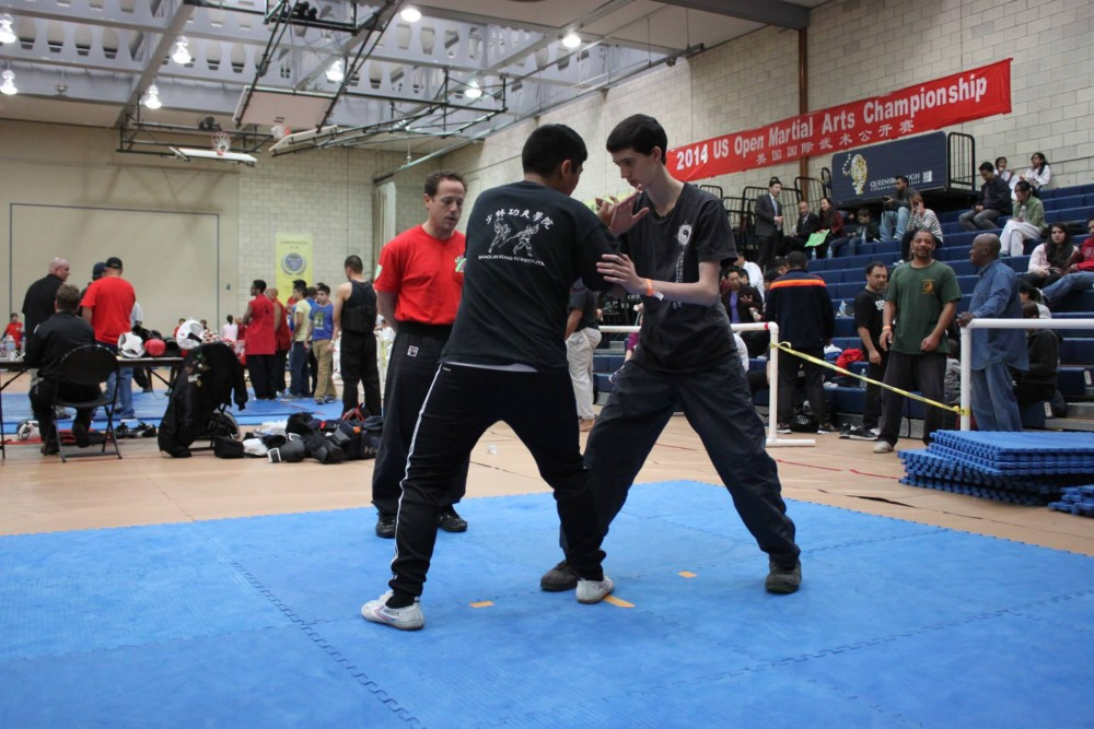 Push Hands competition at US Open Martial Arts Championship organized by the WFMAF