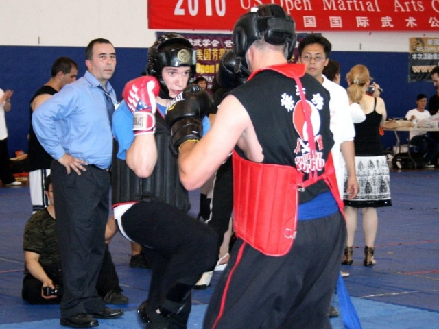 Sparring photos at the US Open Martial Arts Championship organized by the WFMAF.