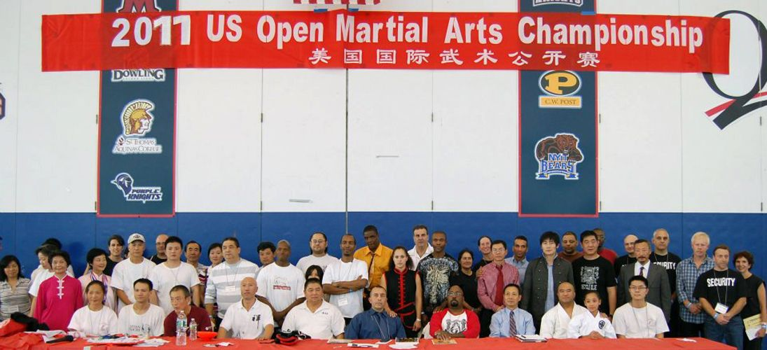 Organizing officials of the US Open Martial Arts Championship