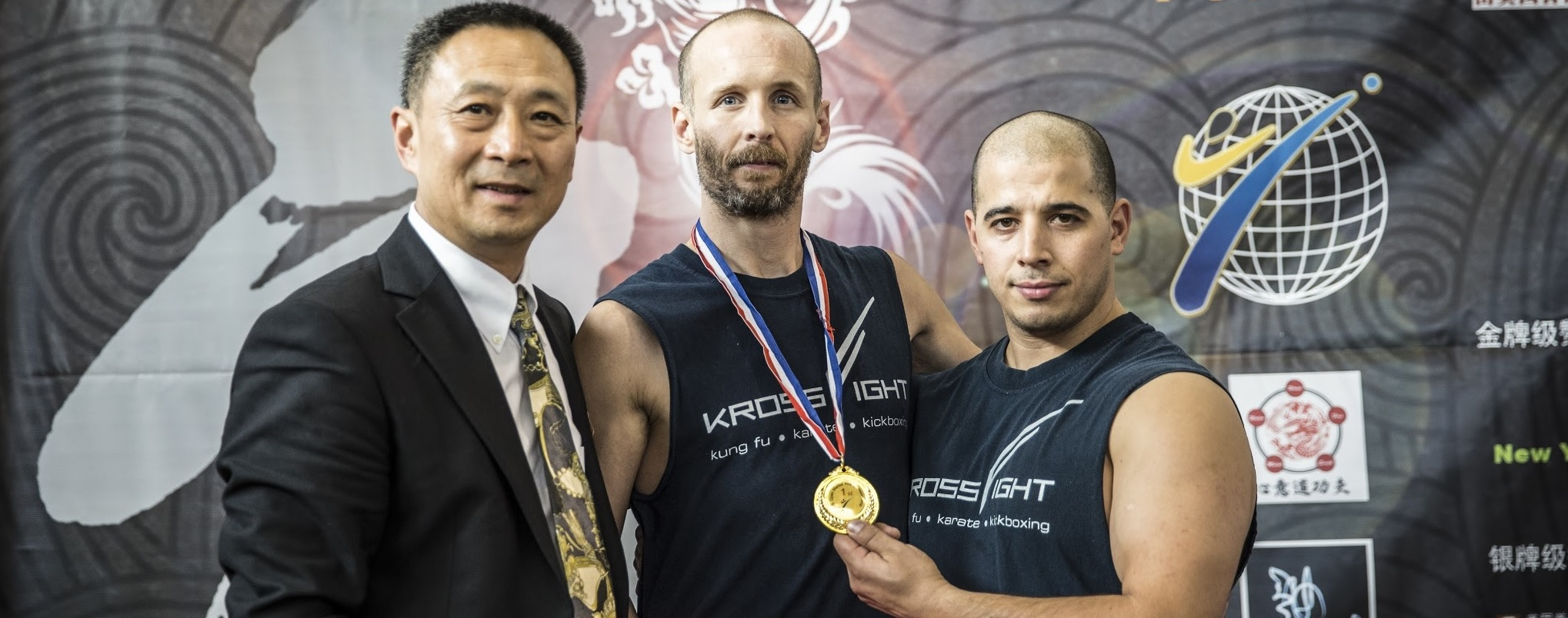 Medal award presented by the WFMAF's president at the US Open Martial Arts Championship 2015