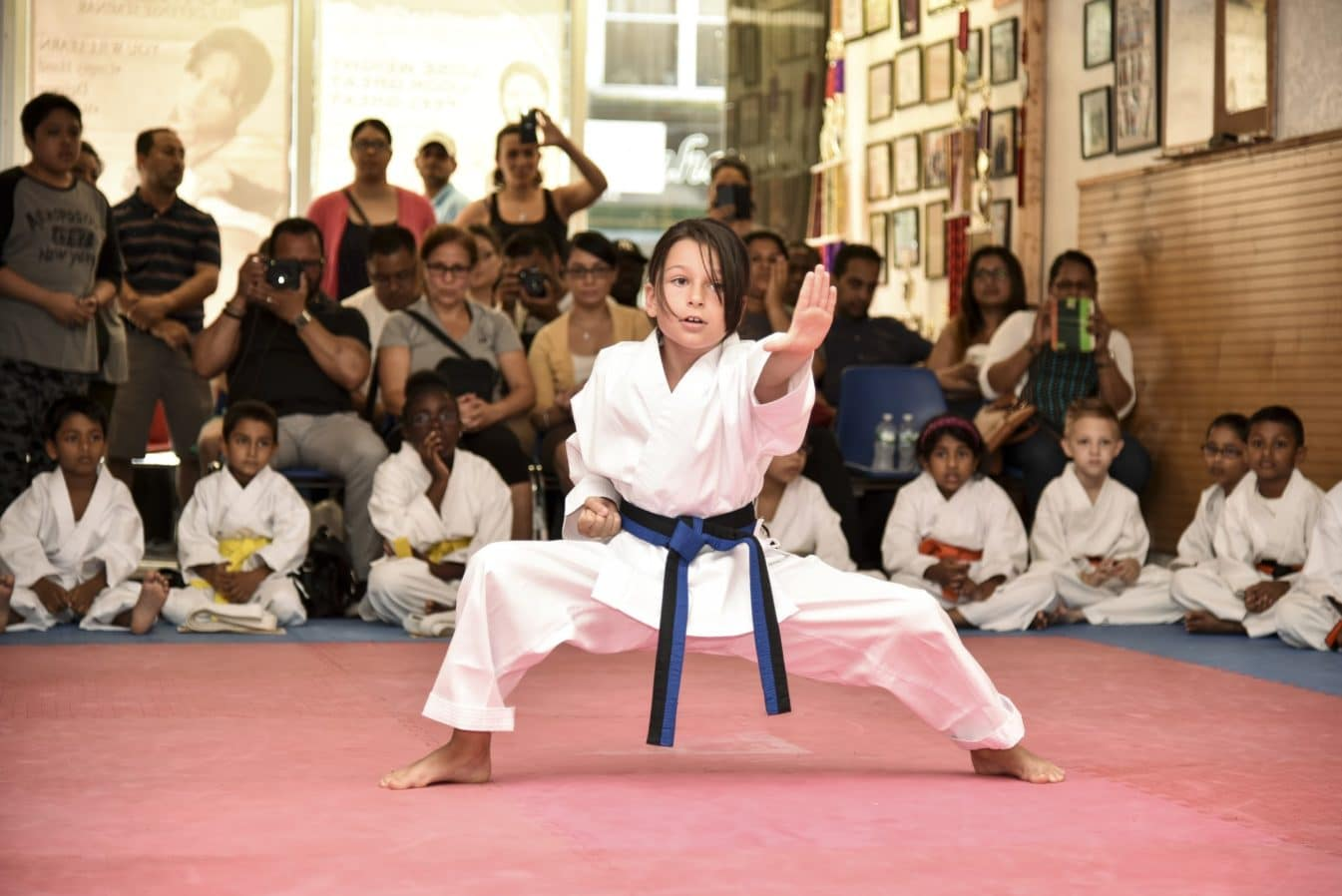Karate Ceremony Demonstration at Born-2-Win Martial Arts