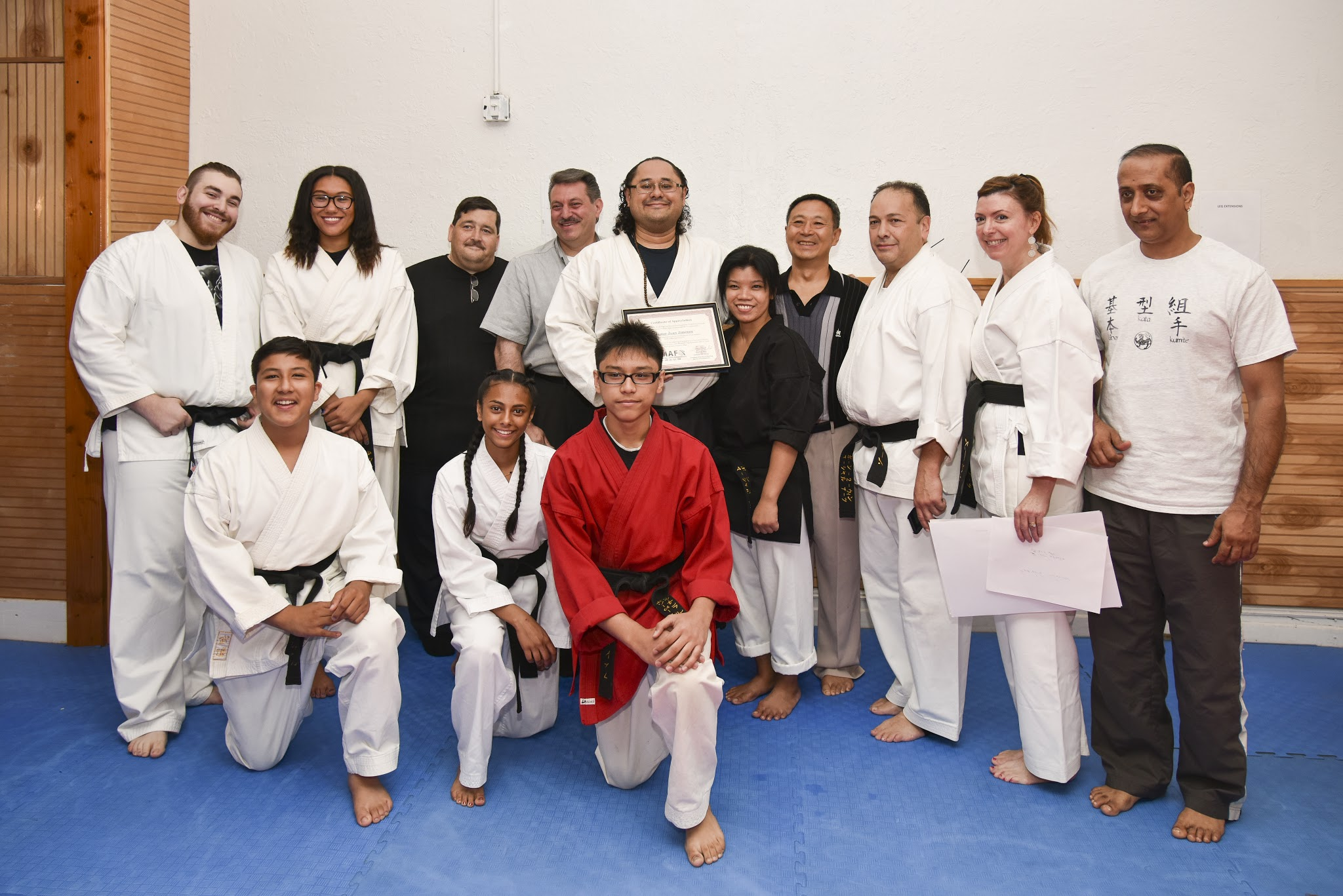 The WFMAF's President Attended the 10th Year Anniversary Ceremony for the Establishment of Born-2-Win Martial Arts under Sensei Jimenez