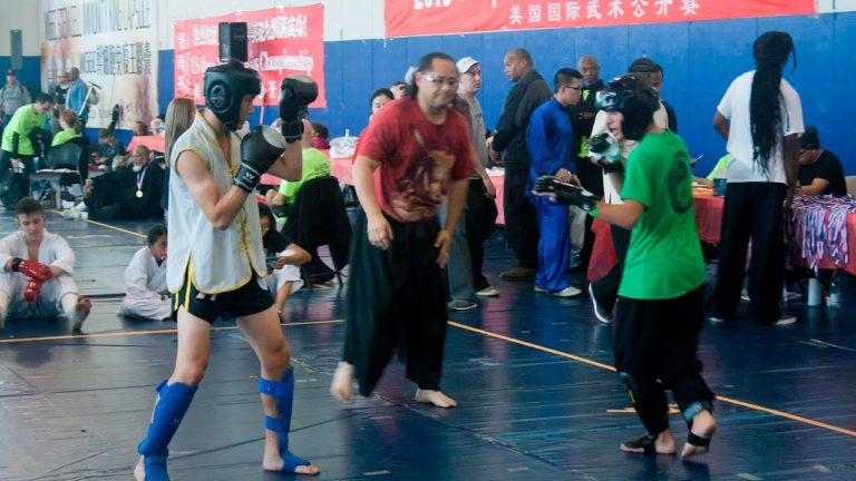 Beginner Level Sparring 2016 at US Open Martial Arts Championship