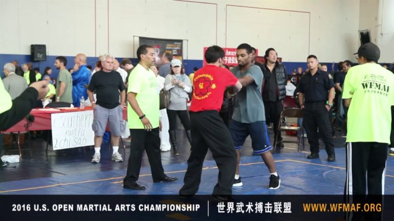 Chi Sao Competition 2016 at US Open Martial Arts Championship