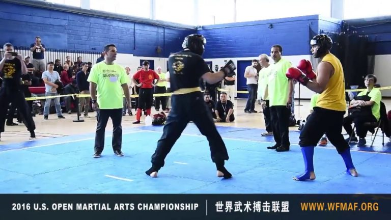 Intermediate & Advanced Level Sparring 2016 at US Open Martial Arts Championship