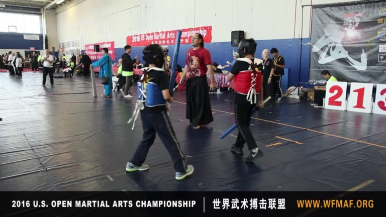 Short Weapon Sparring 2016 at US Open Martial Arts Championship