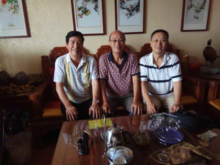 世界武术搏击联盟主席访问徐晓东师父梅惠志大师