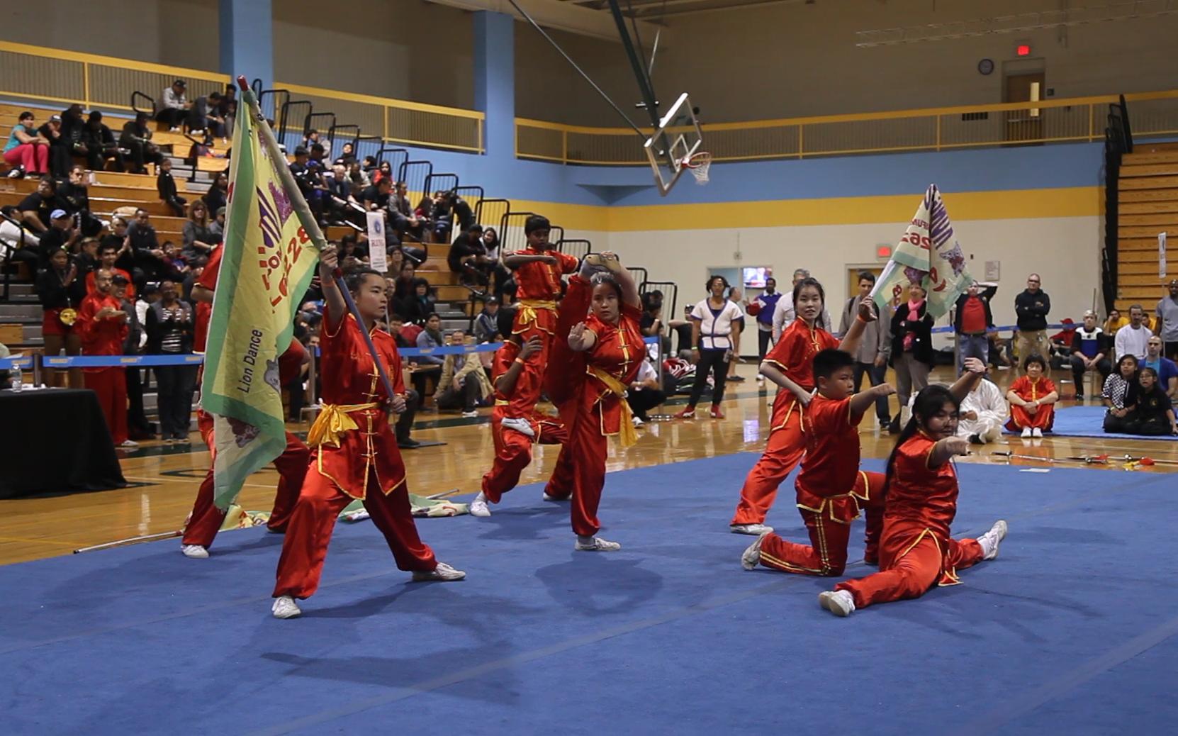 2019世界武术公开赛开幕式-团体表演