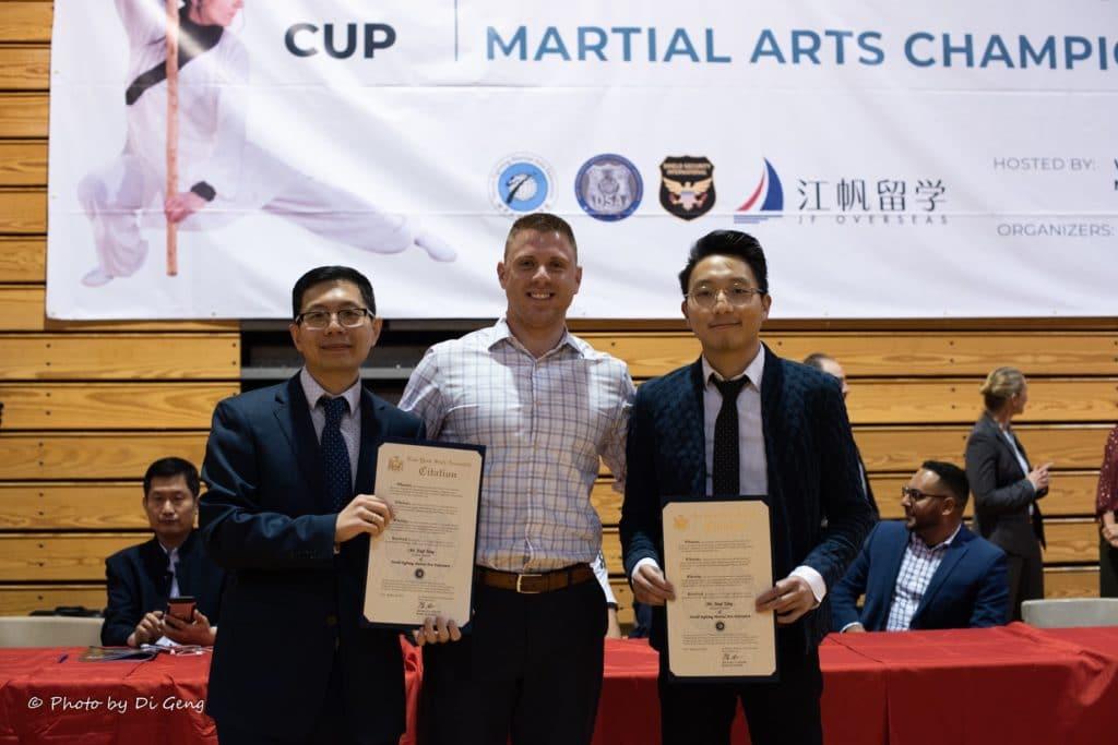 Citation - NYS Assembly Member Michael J. LiPetri, Vice-President Mark Li, Mr. Jiaqi Yang