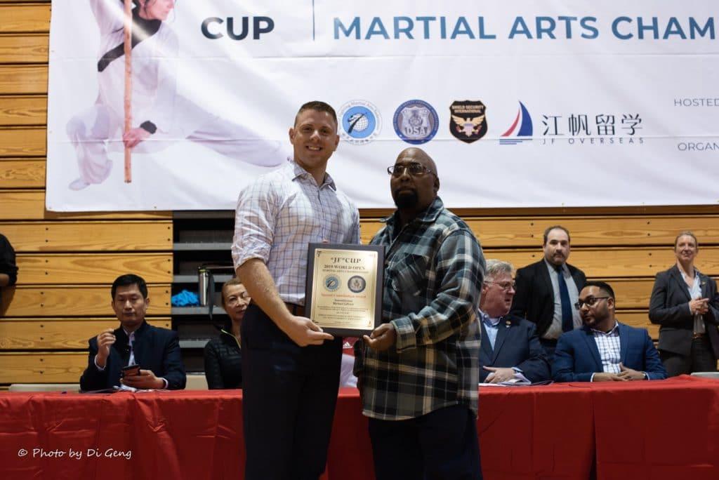 Award - NYS Assembly Member Michael J. LiPetri & Grandmaster George Crayton
