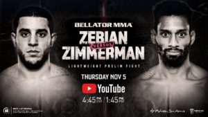 Piankhi Zimmerman in Bellator MMA