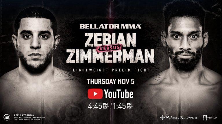 Piankhi Zimmerman Debuted in Bellator MMA