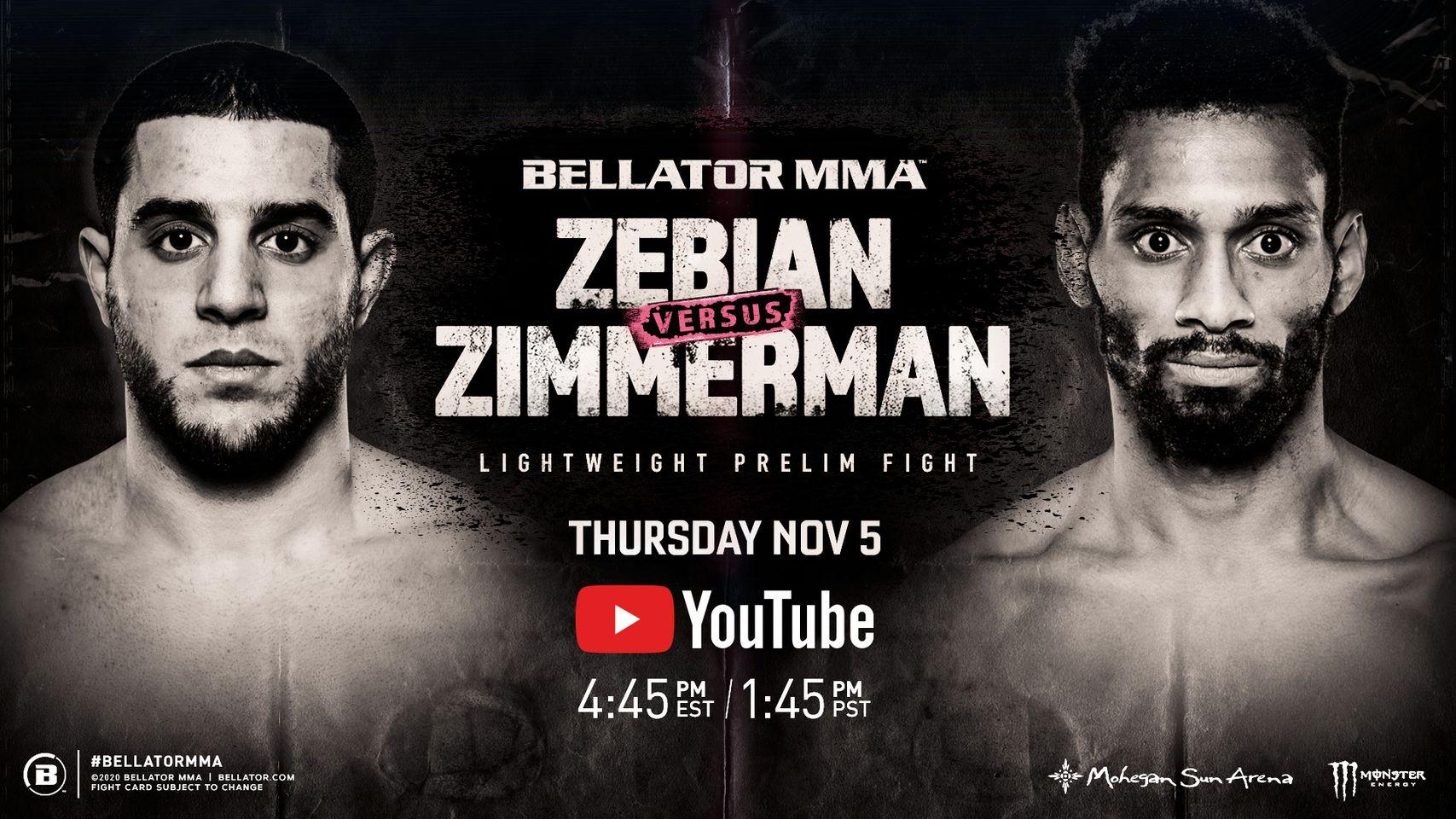 Piankhi Zimmerman in Bellator MMA